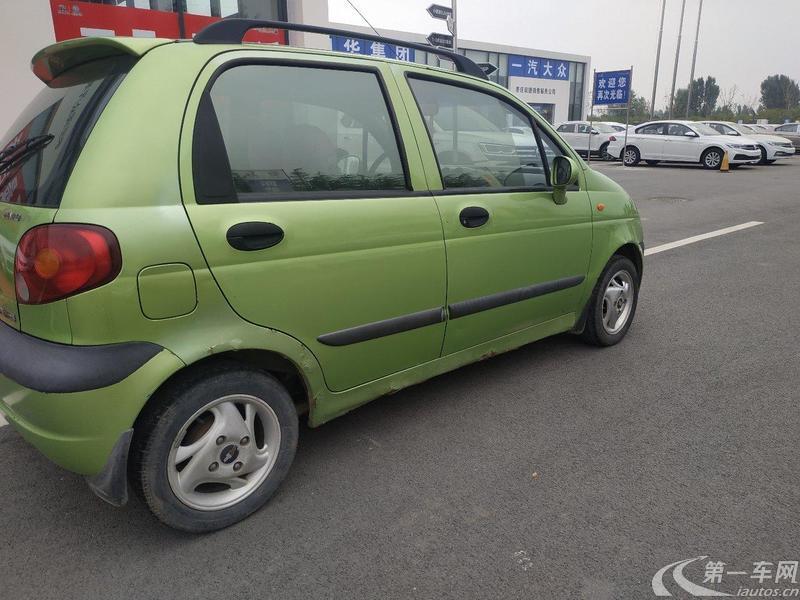 雪佛兰乐驰 2004款 0.8L 手动 (国Ⅱ)