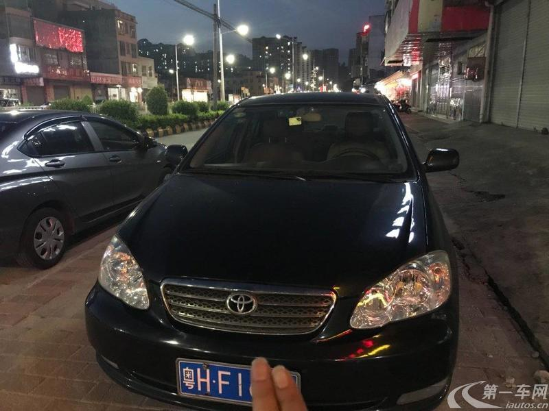 丰田花冠 2006款 1.8L 自动 GLX-S运动版 (国Ⅲ)