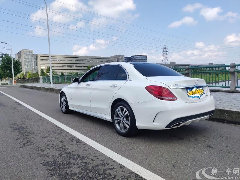 奔驰C级 C200L 2017款 2.0T 自动 运动版 (国Ⅴ)