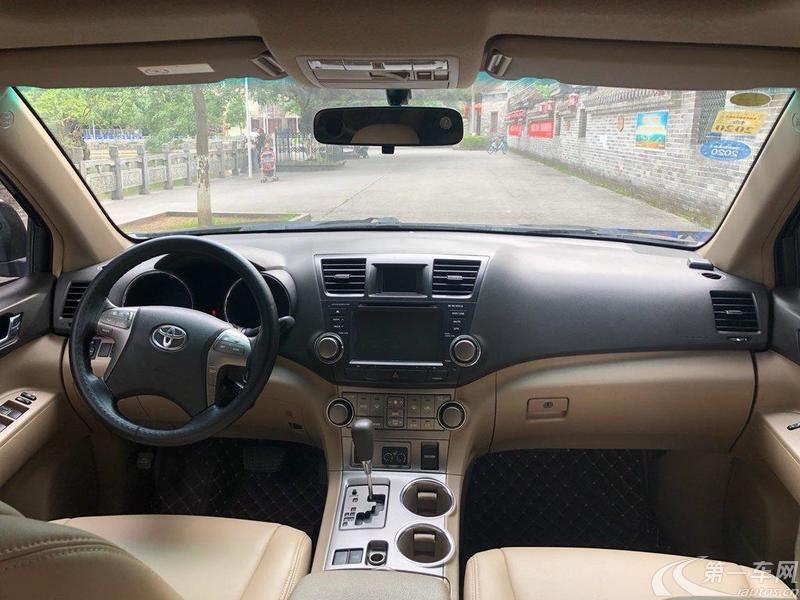 丰田汉兰达 2012款 2.7L 自动 前驱 豪华导航版 (国Ⅳ)