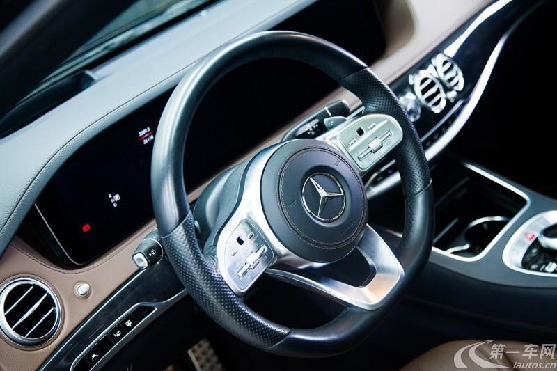 奔驰S级 S450 [进口] 2018款 3.0T 自动 汽油 加长版