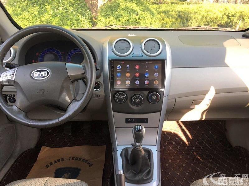 比亚迪G3 数智11版 2011款 1.5L 手动 豪雅型 (国Ⅳ)