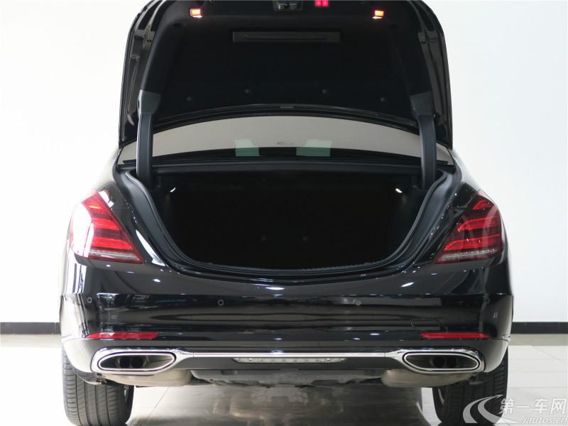 奔驰S350L [进口] 2018款 3.0T 自动 汽油