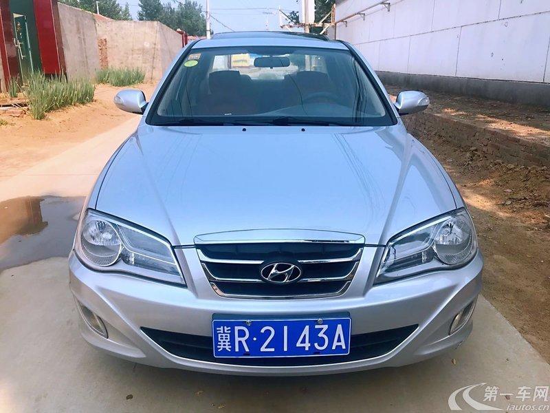 现代伊兰特 2011款 1.6L 手动 三厢轿车 GL舒适型真皮座椅天窗版 (国Ⅳ)