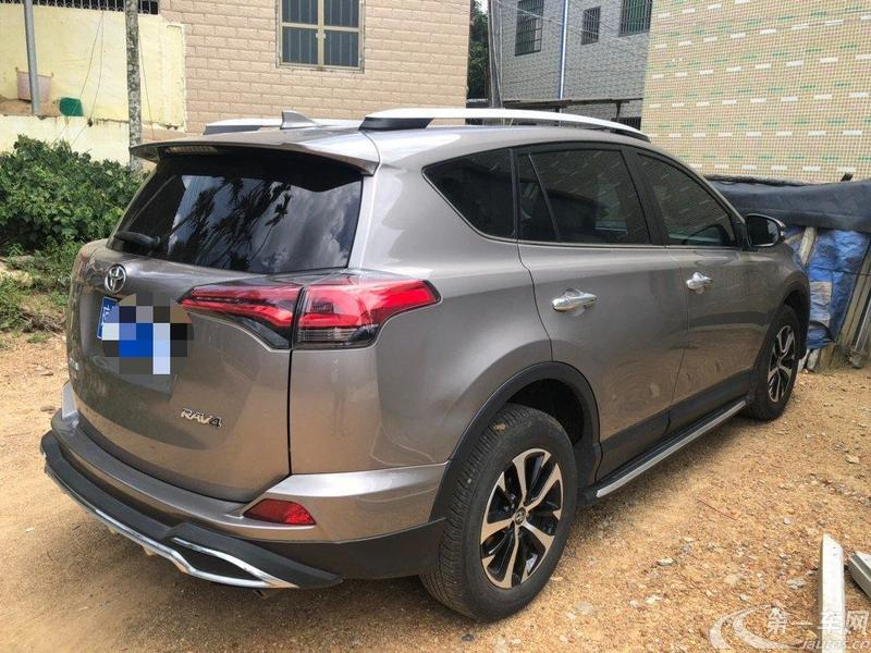 丰田RAV4 2018款 2.0L 自动 前驱 风尚X版 (国Ⅴ)