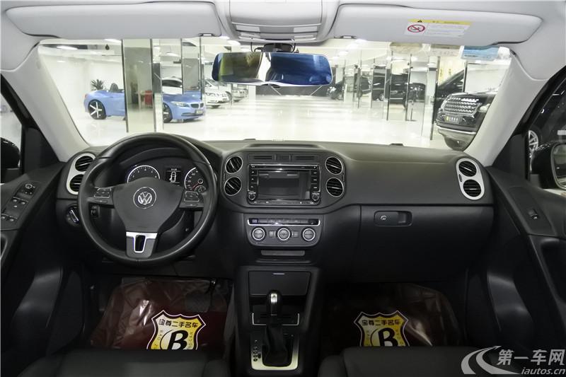 大众途观 2015款 1.8T 自动 前驱 舒适版 (国Ⅴ)
