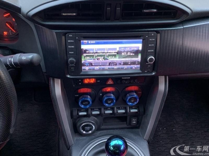 丰田86 [进口] 2013款 2.0L 手动 豪华版