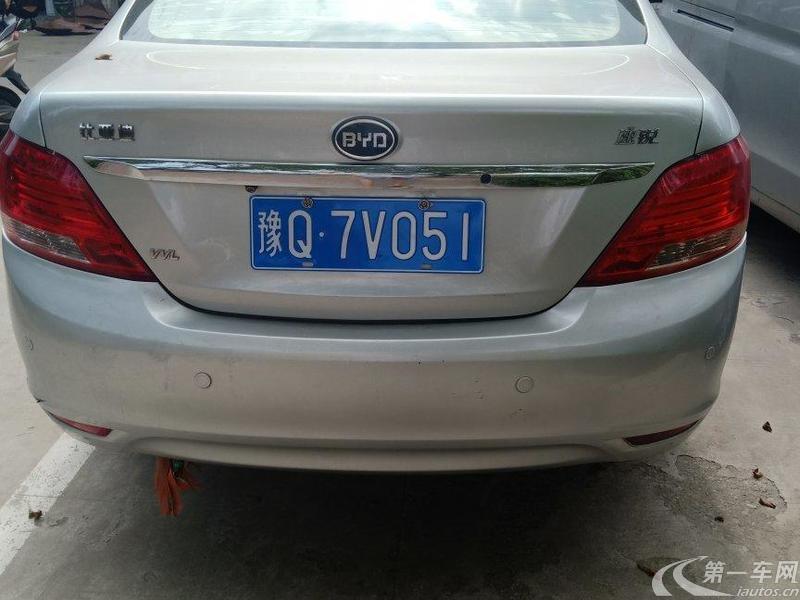 比亚迪速锐 2013款 1.5L 手动 尊贵型 (国Ⅳ)