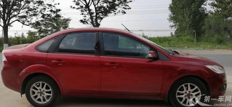 福特福克斯 2011款 1.8L 手动 三厢轿车 经典型 (国Ⅳ)
