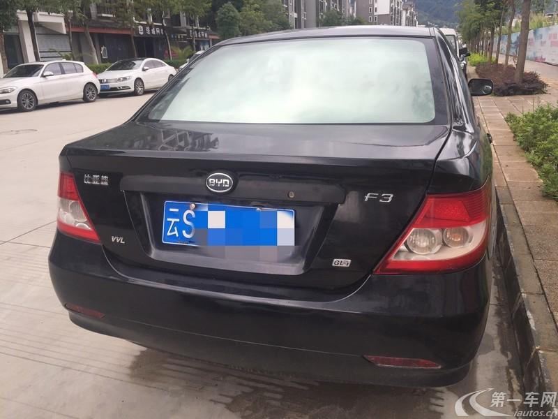 比亚迪F3 新白金版 2012款 1.5L 手动 标准型 (国Ⅳ)