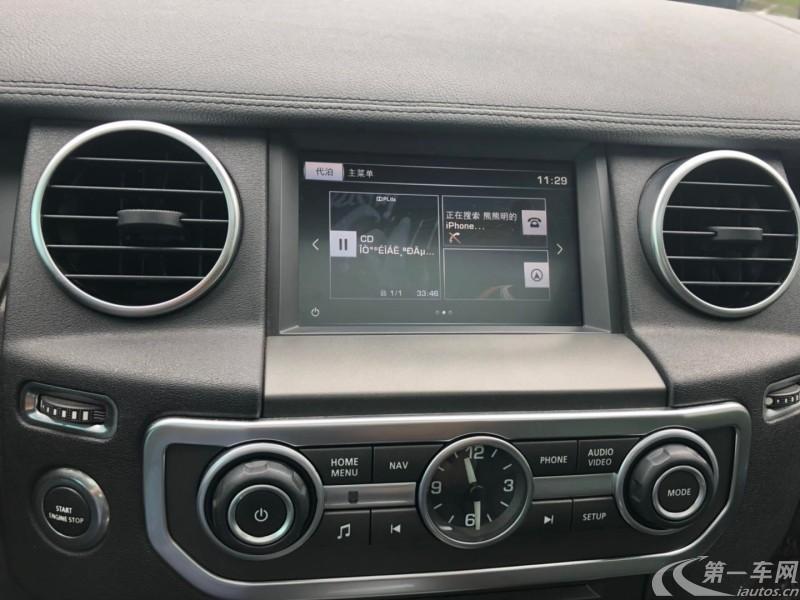 路虎发现 [进口] 2016款 3.0T 自动 四驱 汽油 HSE欧规版平行进口