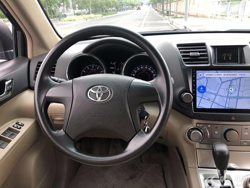 丰田汉兰达 2013款 2.7L 自动 前驱 探索版 (国Ⅴ)