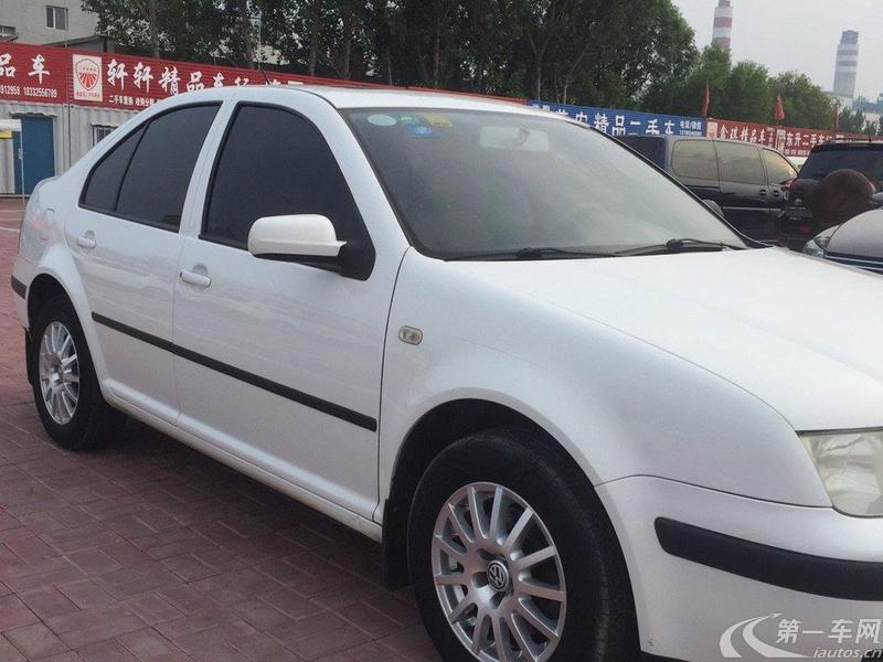 大众宝来 2006款 1.6L 手动 三厢轿车 2V豪华型HL (国Ⅱ)