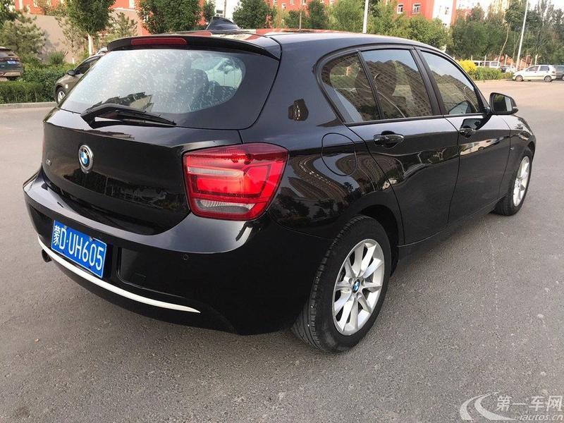宝马1系 116i [进口] 2012款 1.6T 自动 汽油 都市版