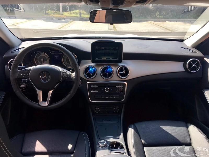 奔驰GLA GLA200 2016款 1.6T 自动 动感型 (国Ⅴ)