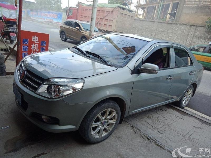 吉利金刚 2014款 1.5L 手动 4门5座三厢车 进取型 (国Ⅳ)