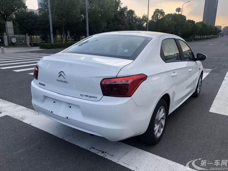 雪铁龙爱丽舍 2018款 1.6L 手动 4门5座三厢车 时尚型改款 (国Ⅴ)