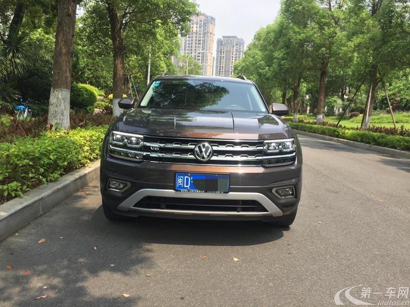 大众途昂 2017款 2.5T 自动 530豪华版 (国Ⅴ)