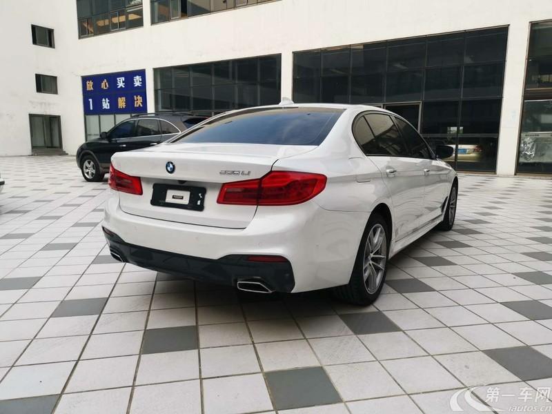 寶馬5系 525Li 2018款 2.0T 自動 汽油 豪華套裝改款 (國Ⅴ)