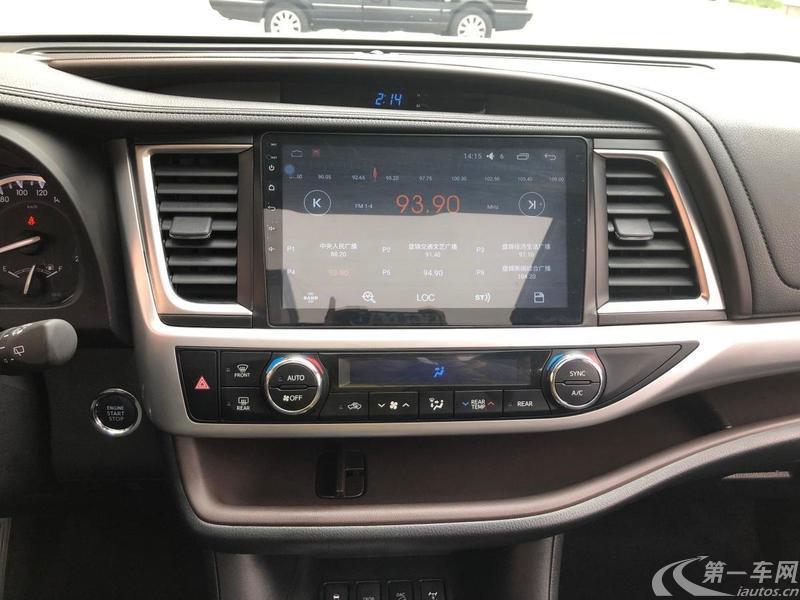 丰田汉兰达 2017款 2.0T 自动 四驱 豪华导航版 (国Ⅴ)