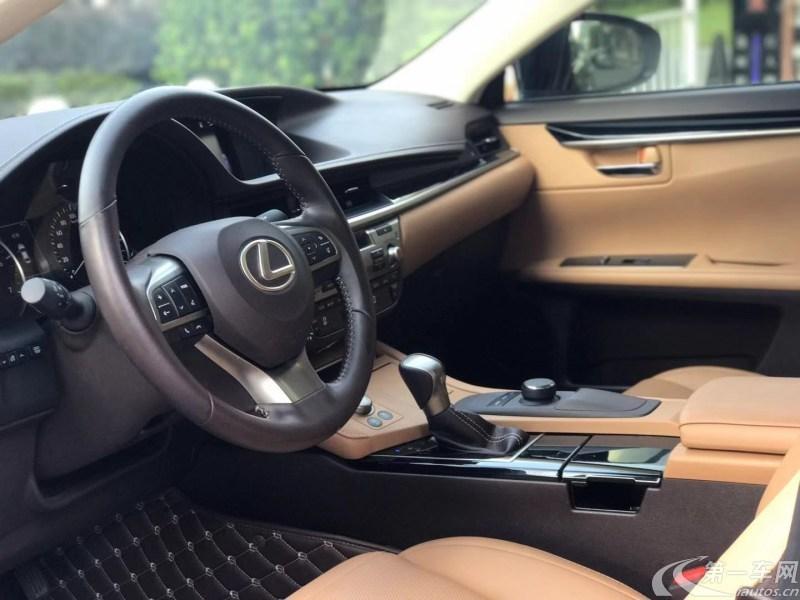雷克萨斯ES 200 [进口] 2018款 2.0L 自动 豪华版
