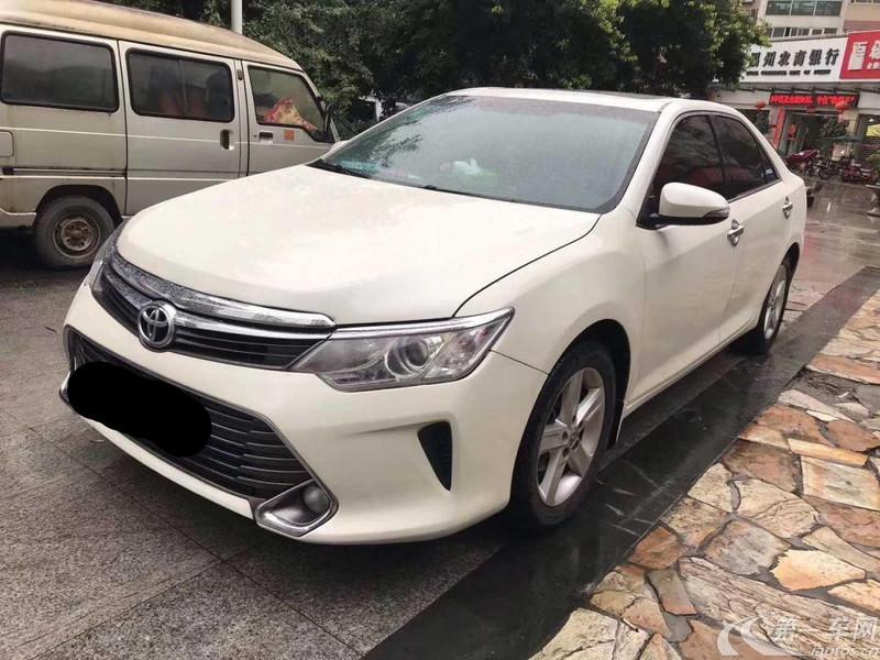 丰田凯美瑞 2015款 2.0L 自动 凌动版 (国Ⅴ)