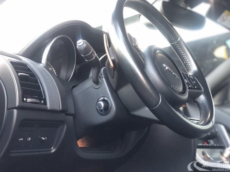 捷豹F-TYPE Coupe [进口] 2016款 3.0T 自动 S硬顶版