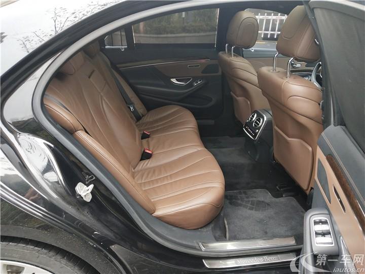 奔驰S级 S320 [进口] 2014款 3.0T 自动 汽油 商务型加长版 (欧Ⅴ)