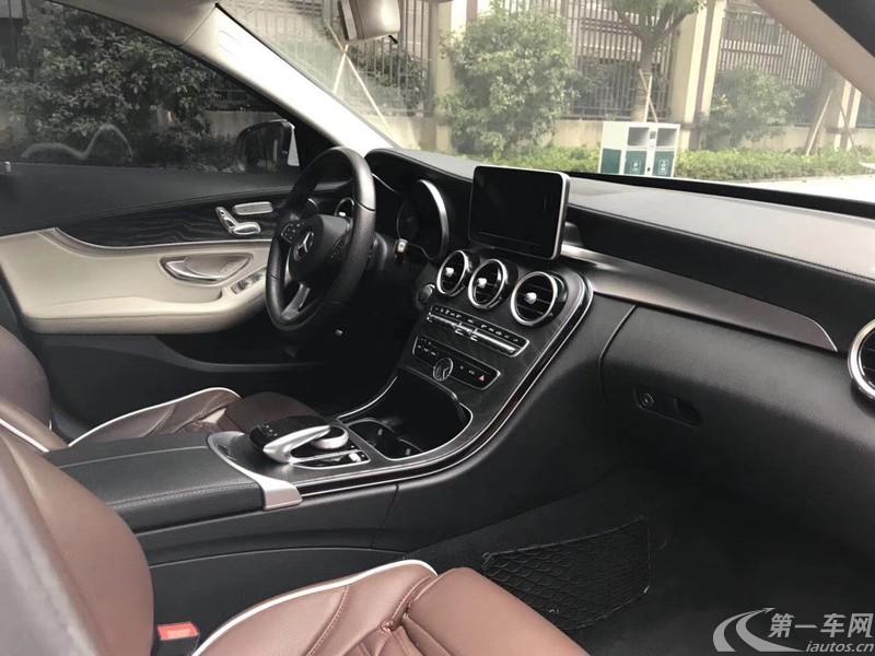 奔驰C级 C200L 2015款 2.0T 自动 (国Ⅴ)