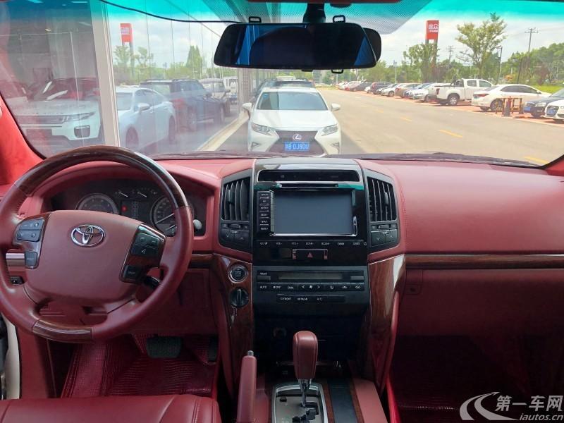 丰田兰德酷路泽 2016款 4.0L 自动 四驱 VX-R (国Ⅴ)