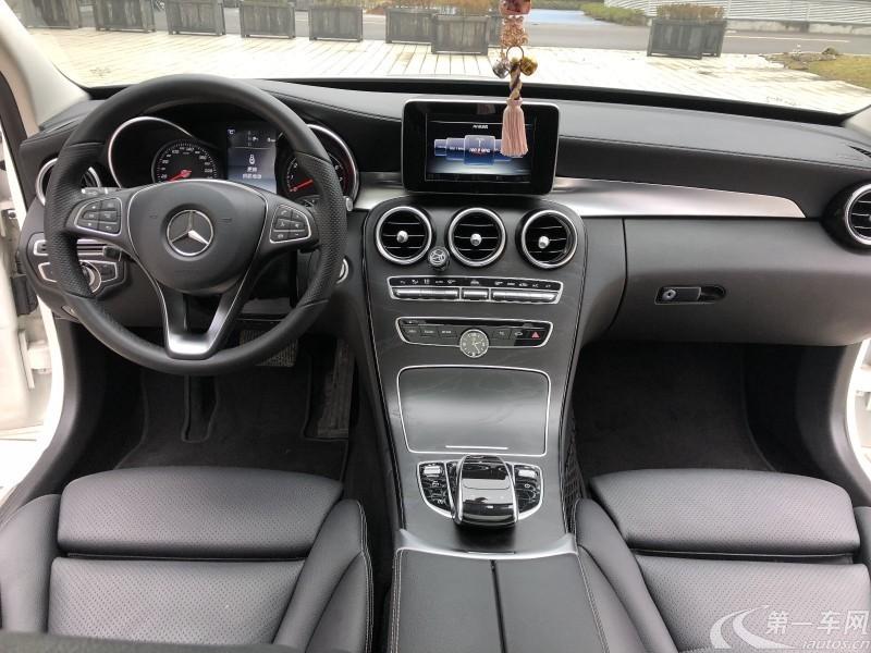 奔驰C级 C200L 2016款 2.0T 自动 (国Ⅴ)