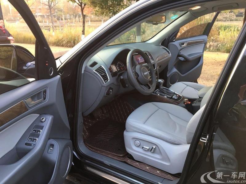 奥迪Q5 2013款 2.0T 自动 四驱 汽油 进取型 (国Ⅳ)