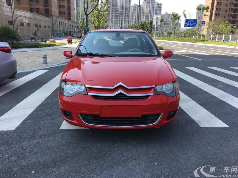 雪铁龙爱丽舍 2012款 1.6L 手动 科技型 (国Ⅳ)