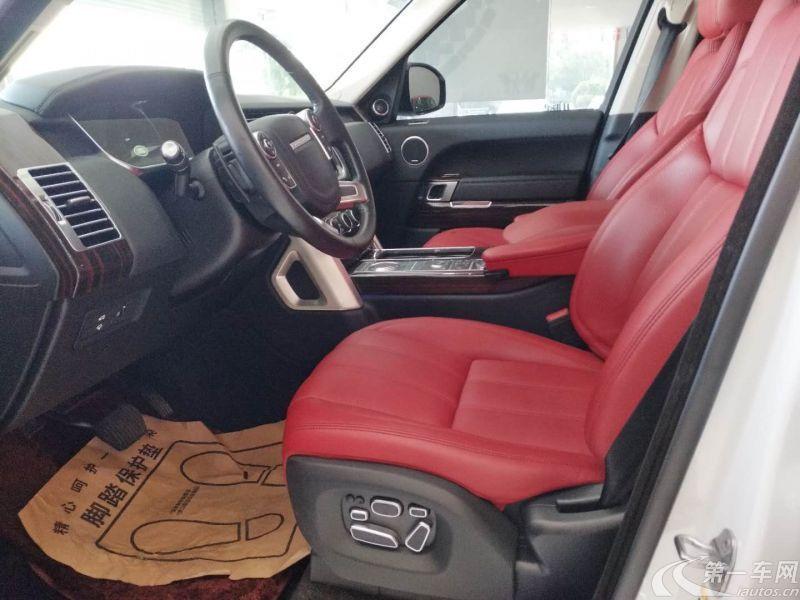 路虎揽胜 [进口] 2015款 3.0T 自动 四驱 TDV6-Hybrid-Vogue-SE创世加长版