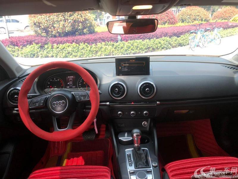 奥迪A3 35TFSI 2018款 1.4T 自动 风尚型Limousine30周年 (国Ⅴ)