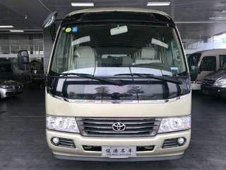 丰田柯斯达 4.0L 手动 豪华车