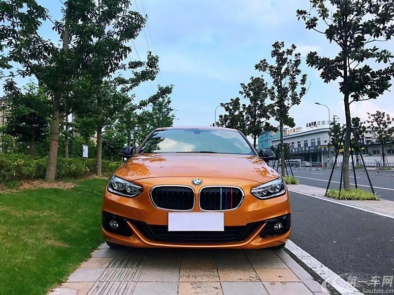 宝马1系 118i 2018款 1.5T 自动 运动型 (国Ⅴ)
