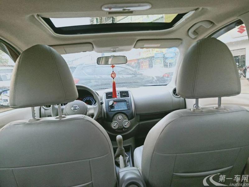 日产阳光 2011款 1.5L 手动 XL豪华版 (国Ⅳ)