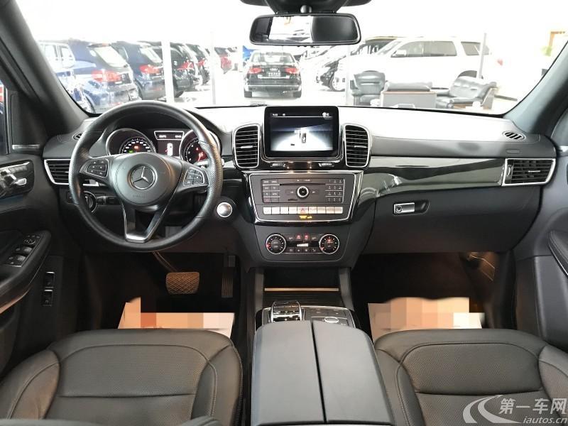 奔驰GLS级 GLS550 [进口] 2017款 4.7T 自动 美规版平行进口 (欧Ⅴ)