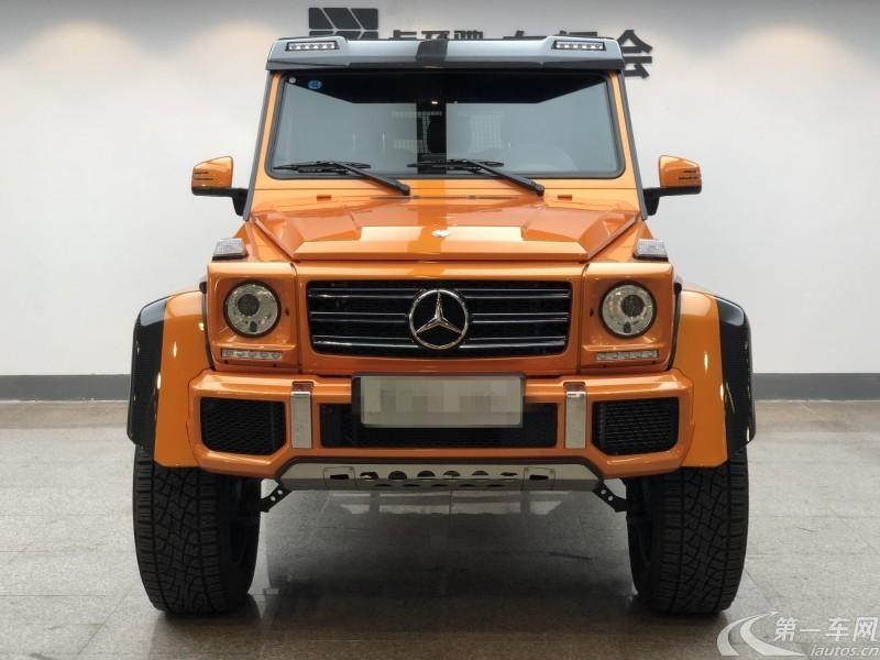 奔驰G500 [进口] 2019款 4.0T 自动 汽油 中东版平行进口 (欧Ⅴ)