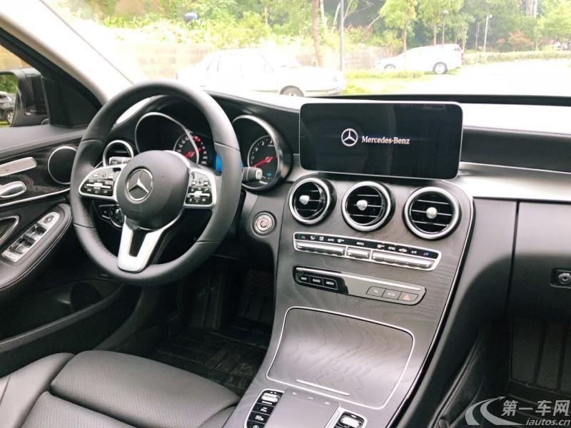 奔驰C级 C260L 2019款 1.5T 自动 型 (国Ⅵ)