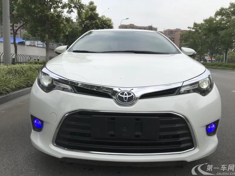 丰田雷凌 2017款 1.2T 自动 G精英版 (国Ⅴ)
