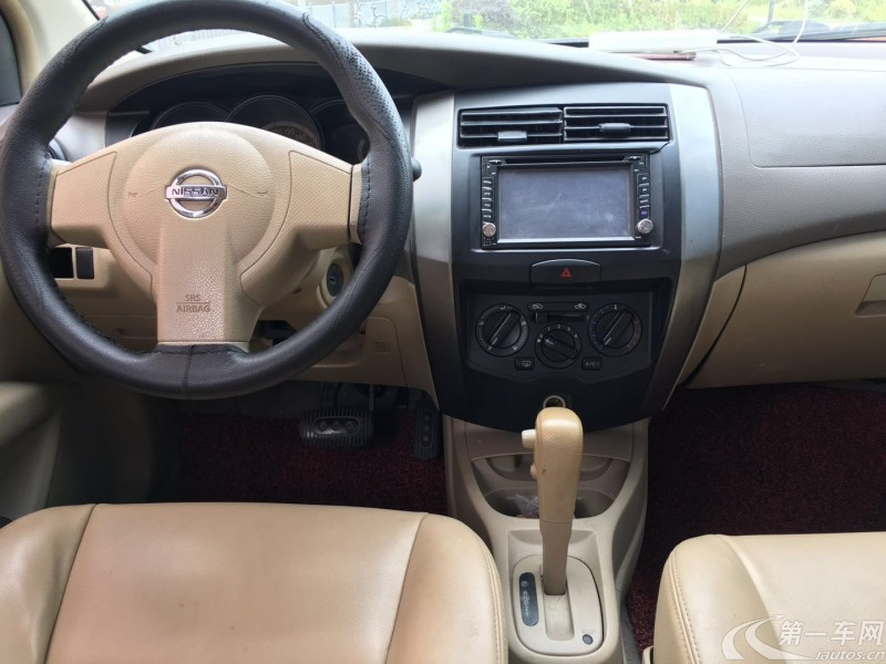 日产骊威 2009款 1.6L 自动 GT炫能型 (国Ⅲ带OBD)