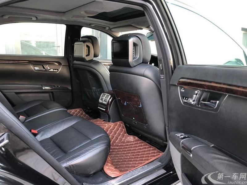 奔驰S级 S350 [进口] 2012款 3.5L 自动 汽油 加长版Grand-Edition