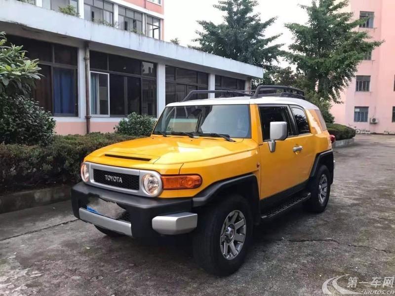 丰田FJ酷路泽 [进口] 2016款 4.0L 自动 四驱 中东版平行进口 (欧Ⅴ)