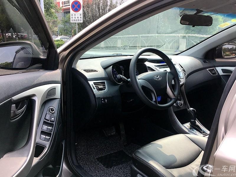 现代朗动 2013款 1.6L 自动 GLX领先型 (国Ⅳ)