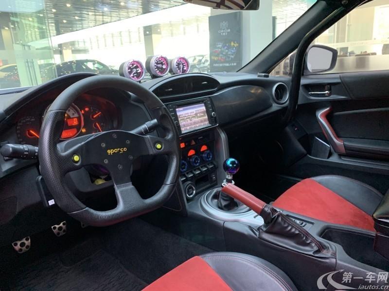 丰田86 [进口] 2013款 2.0L 手动 豪华手动版