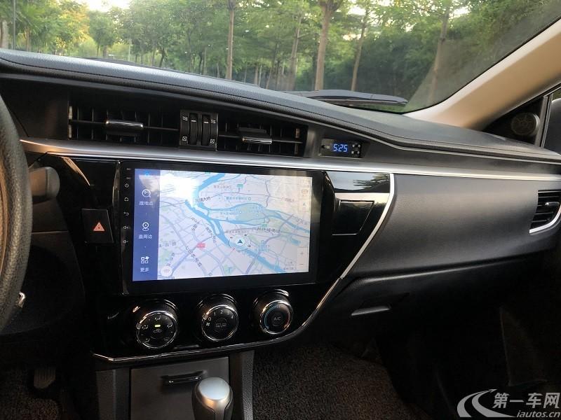 丰田卡罗拉 2017款 1.6L 自动 GL (国Ⅴ)