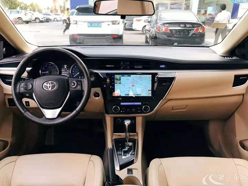 丰田卡罗拉 2014款 1.8L 自动 至高版 (国Ⅳ)
