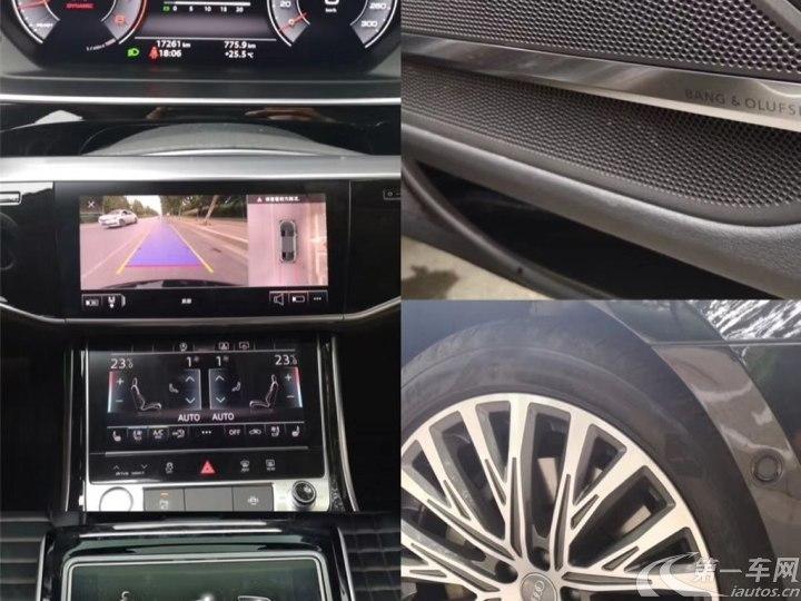 奥迪A8L 50 [进口] 2019款 3.0T 自动 汽油 PLus豪华型